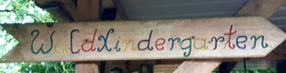Waldkindergarten Schild 6